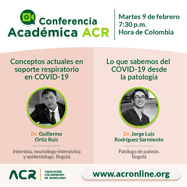 "Conferencia virtual 9 feb: ""Actualidad en COVID-19"""